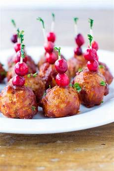 cranberry meatballs paleo low carb healthy appetizer