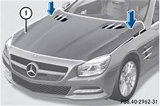 Aktive Motorhaube Mercedes Sl Betriebsanleitung Interaktiv 220 Berblick Aktive