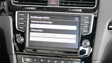 Golf7 Fahrzeugeinstellungen Car