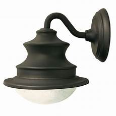 gama sonic barn solar brown outdoor integrated led wall light gs 122 the home depot