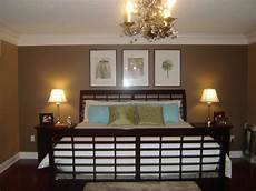 master bedroom with new wall color notes from home
