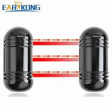 Earykong 433mhz Outdoor Wired Wireless Beam by Earykong 433mhz Outdoor Wired Wireless Beam Detector
