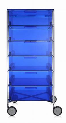 mobil kartell kartell mobil containers with castor base