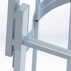 scale con gabbia scale con gabbia in alluminio mico antinfortunistica