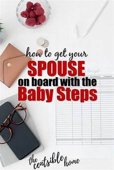 how i got my husband on board with the baby steps