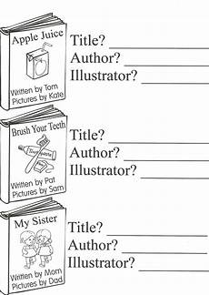 parts of a book title author illustrator 1st grade library parts of a book