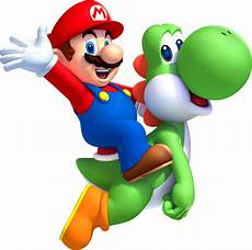 mario and yoshi clipart best