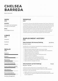 sales assistant resume writing guide resumeviking com