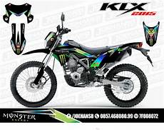 Striping Klx 150 Modifikasi by Jual Decal Motor Striping New Klx Bf 150 Cc 2015