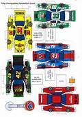 Race Cars Paper Models  1000 Images About Car Party