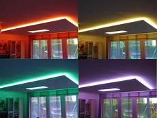 led decke indirekte deckenbeleuchtung mit led strips
