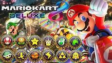 Mario Kart 8 Deluxe All Tracks 200cc Race Gameplay
