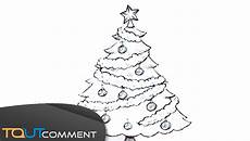 dessin sapin de noel dessiner un arbre de no 235 l