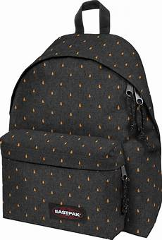 eastpak padded pak r backpack grey orange