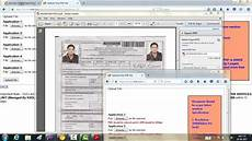 how to upload new pan card document photo signature online new csc portal pan card form
