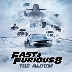 Fast And Furious 8 The Album Cd Various Artists