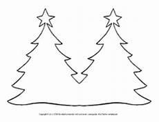 fensterbilder weihnachten vorlagen weihnachtsbaum malbild