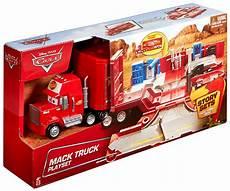 mack truck playset story sets disney cars mattel toys