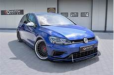 golf vii facelift vw golf vii r facelift racing side skirts diffusers