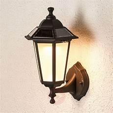 solar kristin led outdoor wall light lights co uk