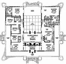 u shaped house plans with courtyard love the central courtyard with windows all around