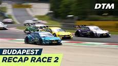 Recap Race 2 Extended Version Dtm Budapest 2018