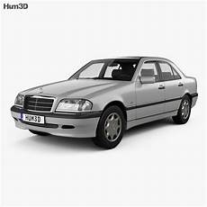 Mercedes C Class W202 Sedan 1997 3d Model