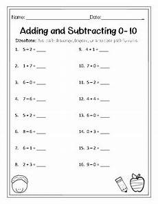subtraction worksheets from 10 10083 mixed addition and subtraction 0 10 worksheet by maestra miller tpt