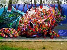 print poster photo graffiti mural trippy