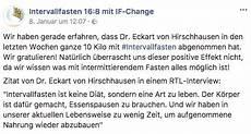 Intervallfasten 16 8 Hirschhausen - ᐅᐅᐅ if change abnehmen mit der intervallfasten 16 8 anleitung