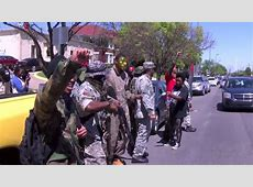 New Black Panthers in armed showdown with anti Muslim