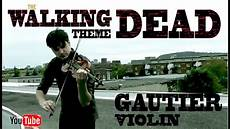 The Walking Dead Theme Violin Cover Amc Dubstep
