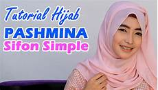 Tutorial Pashmina Sifon Simple