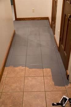 Faux Cement Tile Painted Floors Tile Floor Diy Painting