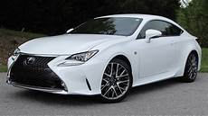 Sport Car 2015 by 2015 Lexus Rc350 F Sport Start Up Road Test And In Depth
