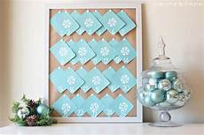 Diy Advent Calendar Of Family Home