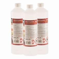 Bio Ethanol 100 - 6 x 1 liter bioethanol 100 bioethanol kamin test