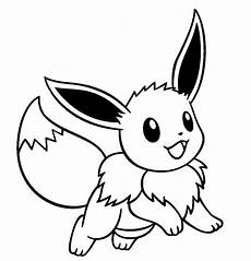 Malvorlagen Evoli Eevee Drawings Coloring Pages