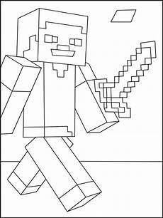 Malvorlagen Minecraft Steve Ausmalbilder Minecraft Steve Malvorlagen Kostenlos Zum