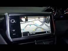 Peugeot 208 Papago Gps Navigation Rear Upgraded