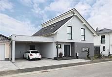 garage erweitern carport pultdach weberhaus fertighaus haus anbau