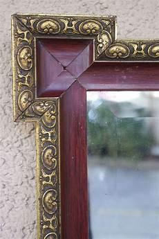 antiker spiegel gold wundersch 246 ner antiker spiegel rot gold kaufen auf ricardo