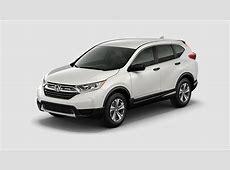 2017 Honda CR V exterior and interior color options
