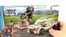 Lego City Poursuite Polici 232 Re 60042 Voiture De