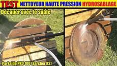 decapage volet bois au karcher lidl nettoyeur haute pression parkside phd 100 110 karcher k2 decaper lasure sableuse hydro