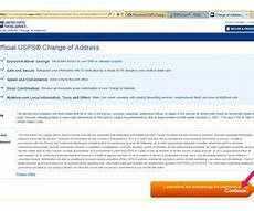 how to print a change of address form from the us post office techwalla com