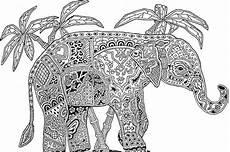 Ausmalbilder Elefant Erwachsene Ausmalbilder F 252 R Erwachsene Zum Ausdrucken 30 Sch 246 Ne