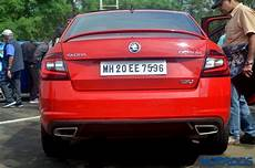 skoda octavia rs sold out in india for 2017 motoroids