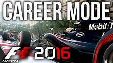xbox one f1 2016 f1 2016 career mode part 1 practice qualifying f1