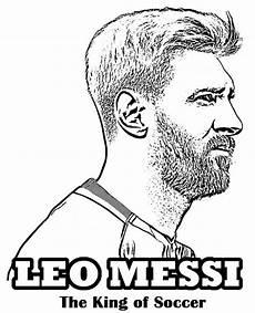 Fussball Ausmalbilder Ronaldo Top 9 Lionel Messi Coloring Sheets For Soccer Fans